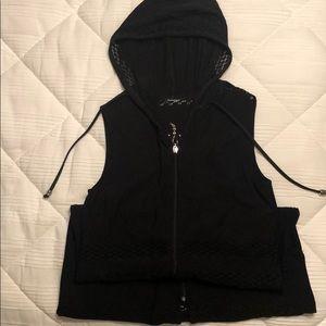 Black bathing suit  coverup